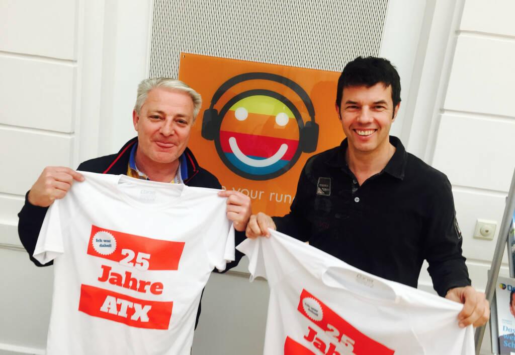 25 Jahre ATX - Thomas Schneidhofer, Rudolf Zipfelmayer (09.05.2016)