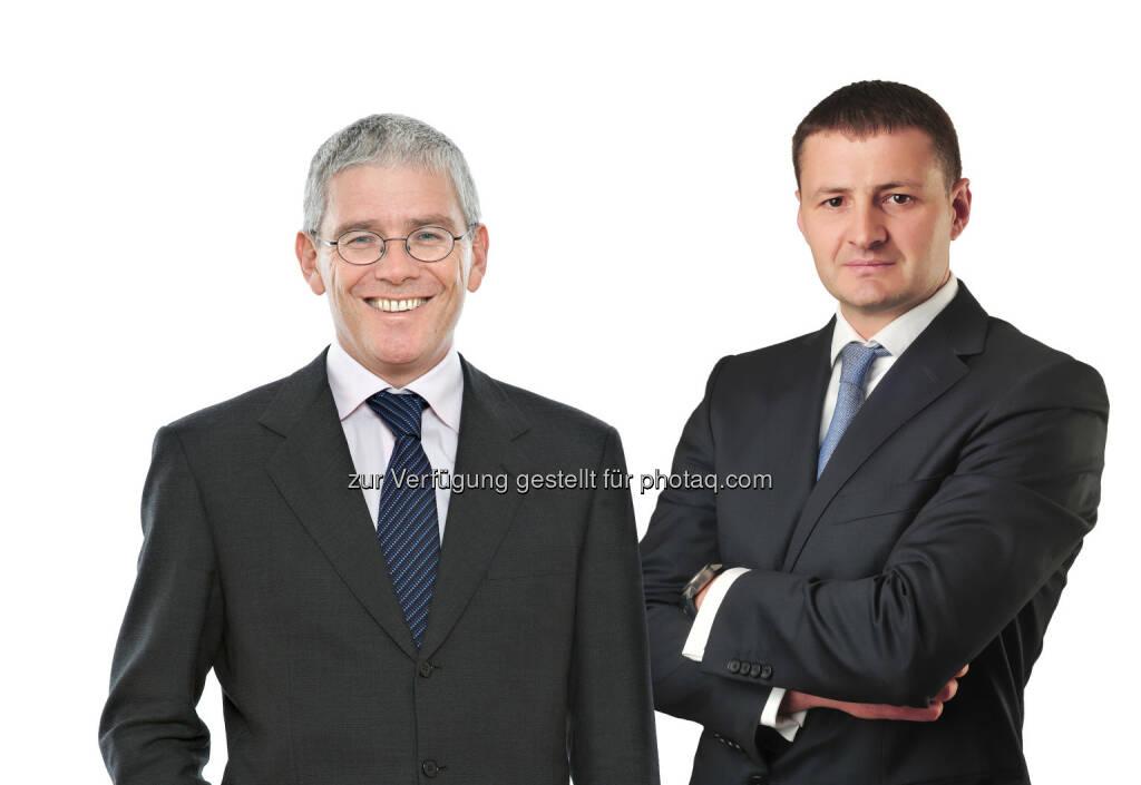 Christoph Lindinger (Partner), Slaven Moravcevic (Partner): Montenegro gewinnt mit Schönherr ersten ICSID-Fall : Fotocredit: Schönherr, © Aussendung (09.05.2016)