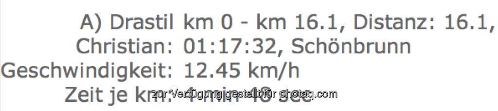 finanzmarktfoto.at-Läufer Christian Drastil recht zufrieden - Vienna City Marathon 2013 (14.04.2013)