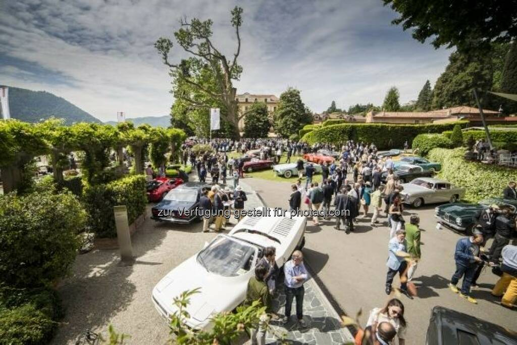 "Concorso d'Eleganza Villa d'Este 2016 vereint Tradition und Moderne : Motto ""Back to the Future – the Journey continues"" : Fotocredit: © BMW Group (10.05.2016)"