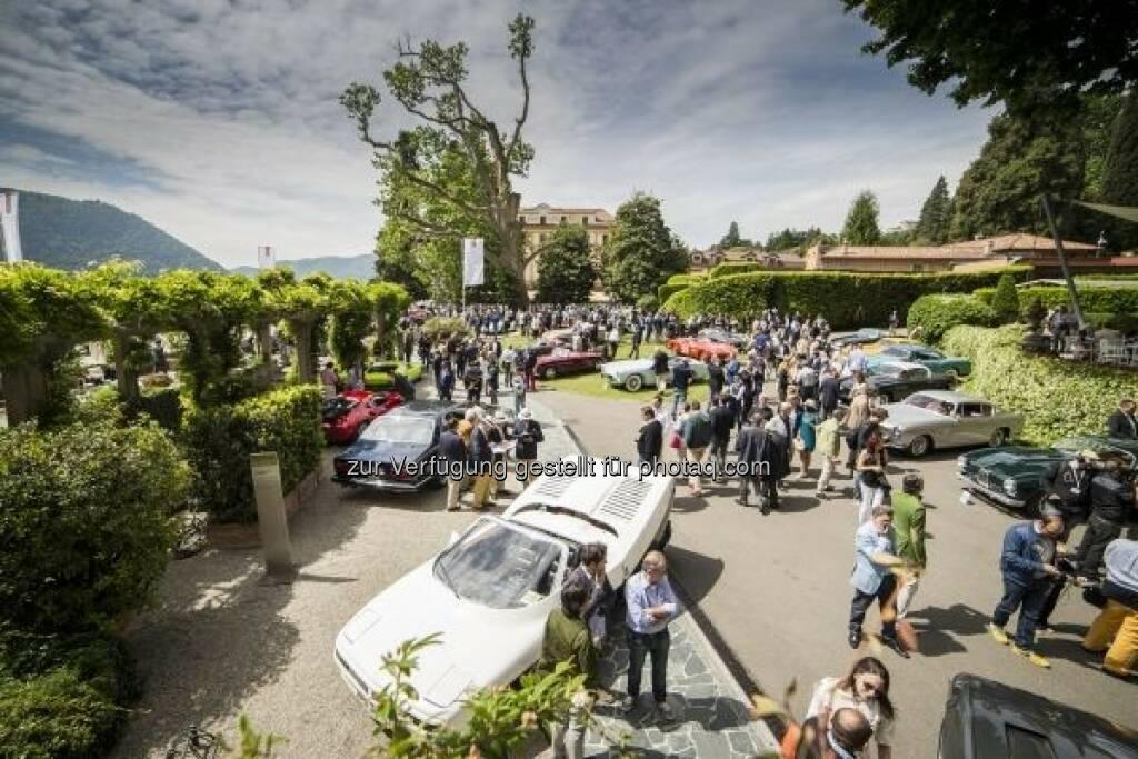 "Concorso d'Eleganza Villa d'Este 2016 vereint Tradition und Moderne : Motto ""Back to the Future – the Journey continues"" : Fotocredit: © BMW Group (10.05.2016)"