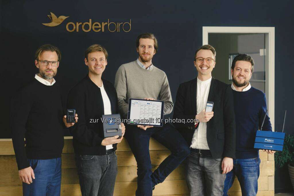 orderbird AG: orderbird schließt Finanzierungsrunde über 20 Millionen Euro ab: Digital+ Partners, Metro Group und Concardis investieren in iPad-Kassensystem (Bild: orderbird AG) (11.05.2016)