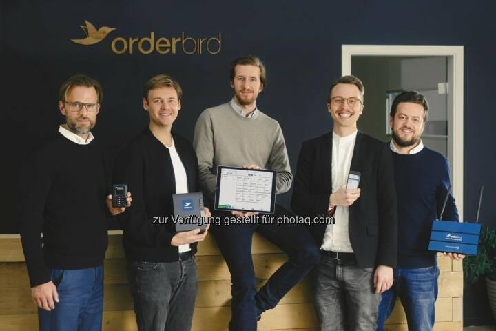 orderbird AG: orderbird schließt Finanzierungsrunde über 20 Millionen Euro ab: Digital+ Partners, Metro Group und Concardis investieren in iPad-Kassensystem (Bild: orderbird AG)