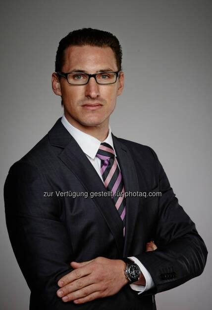 Florian Richter wird Real Estate Manager von Wien Mitte : Fotocredit: Werner Streifelder, © Aussendung (11.05.2016)