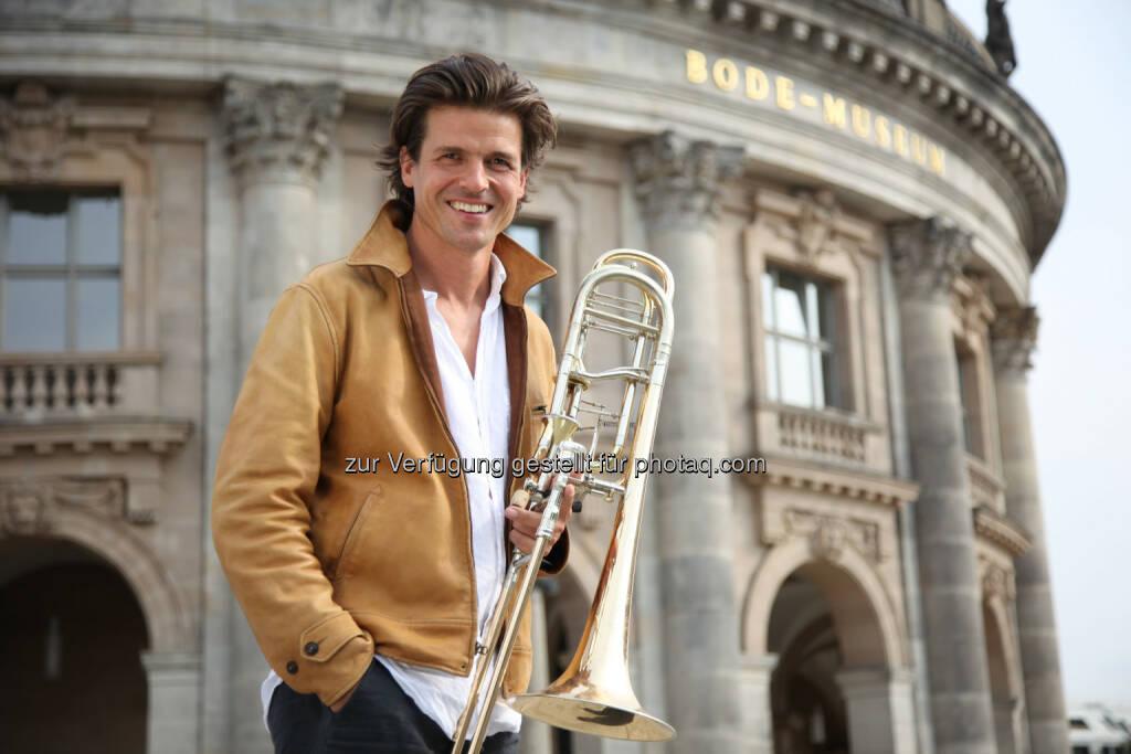 Stefan Schulz (Starposaunist Berliner Philharmoniker & Masterclass-Referent in Grein) : Sommerakademie in Bad Kreuzen in OÖ : Fotocredit: Stefan Schulz, © Aussender (11.05.2016)