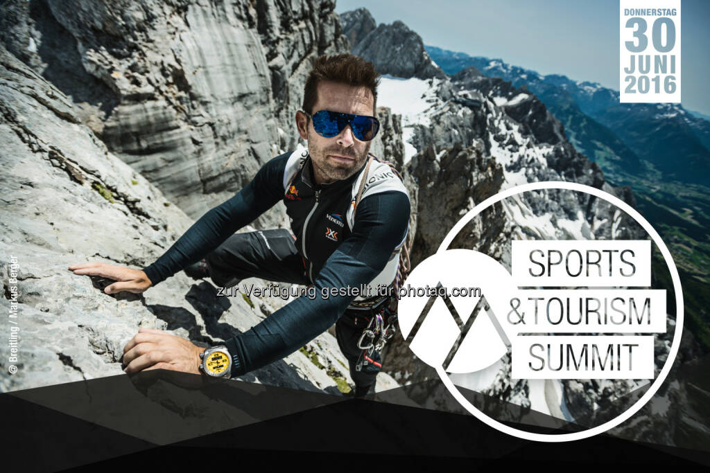 Hannes Arch (Keynote Speaker) : 2. Sports & Tourism Summit in Salzburg : Fotocredit: Markus Berger / Breitling (18.05.2016)