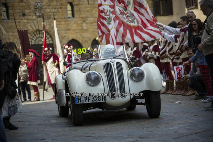 BMW auf der Mille Miglia : Die BMW Group Classic bei der Mille Miglia 2016 : © BMW Group