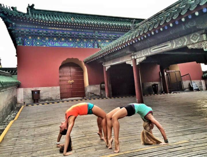 Monika Kalbacher, Peking, China, Brücke