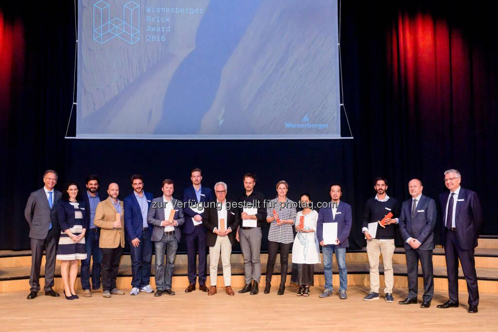 Winner Wienerberger Brick Award 2016 - (Bild: Christian Dusek) (22.05.2016)