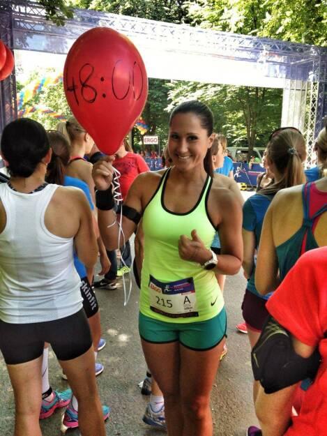 Monika Kalbacher beim Österreichischen Frauenlauf (22.05.2016)
