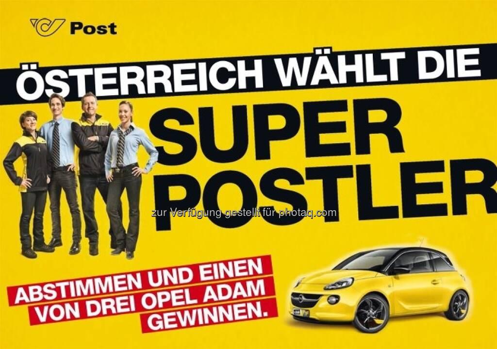 Österreich wählt die Super Postler (c) Post (16.04.2013)
