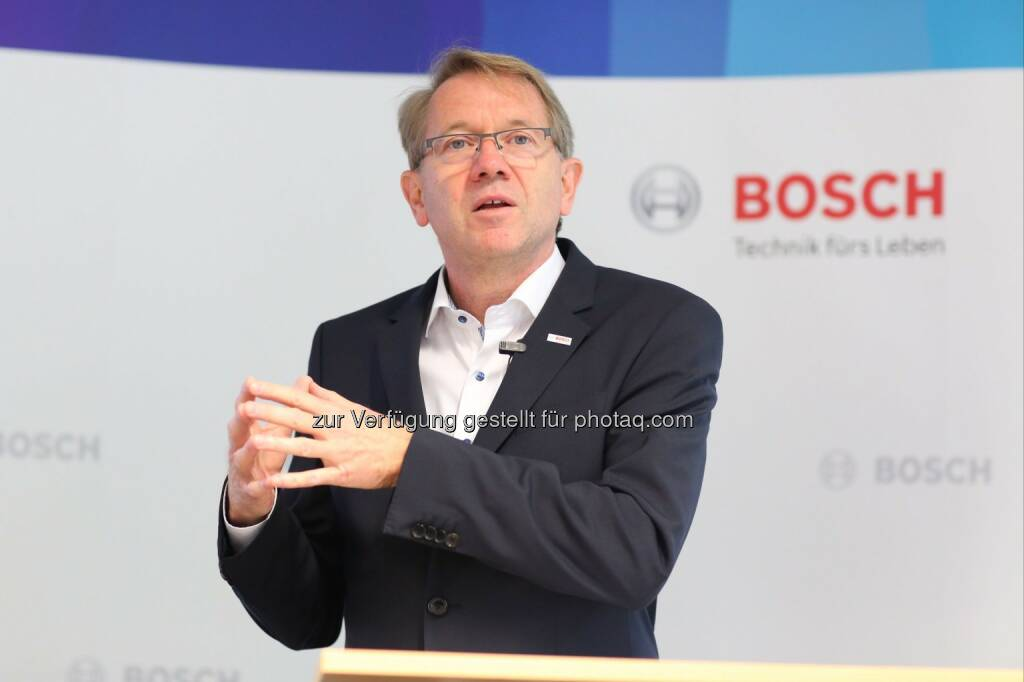 Klaus Peter Fouquet (Bosch Österreich-Chef) : Bosch in Österreich weiterhin auf Wachstumskurs : Fotocredit: Robert Bosch AG/APA-Fotoservice/Schedl, © Aussender (24.05.2016)