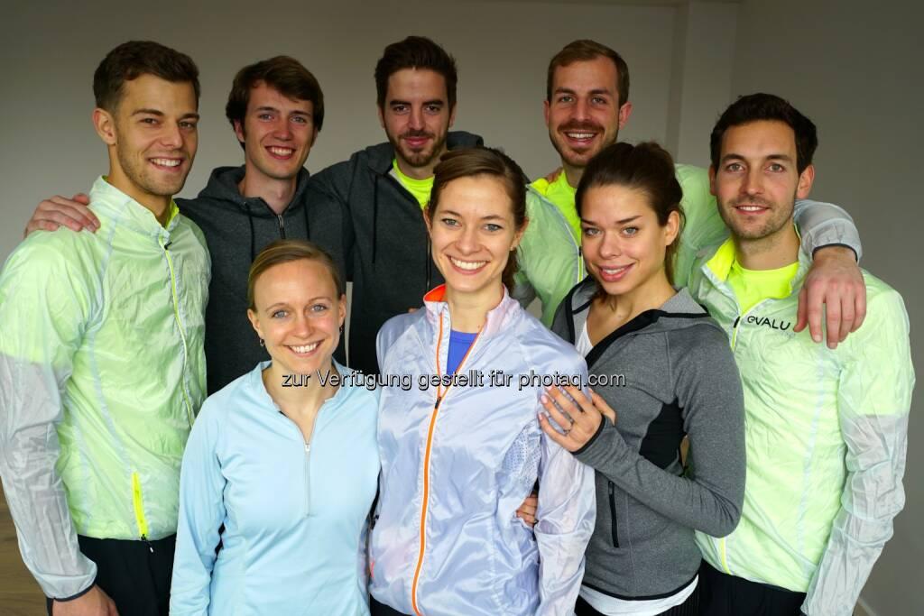 Das evalu Team : Künstliche Intelligenz im Sport: evalu.run – Laufen durch Technik leicht gemacht : Fotocredit: evalu, © Aussendung (24.05.2016)