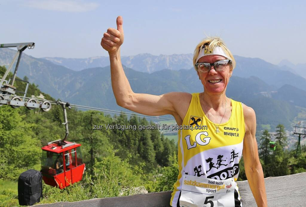 Margit Egelseder :  20. Bad Ischler Katrin-Berglauf -12. Juni 2016 - mit internationaler Berglauf Elite : Fotocredit:  Hörmandinger (13), © Aussendung (25.05.2016)