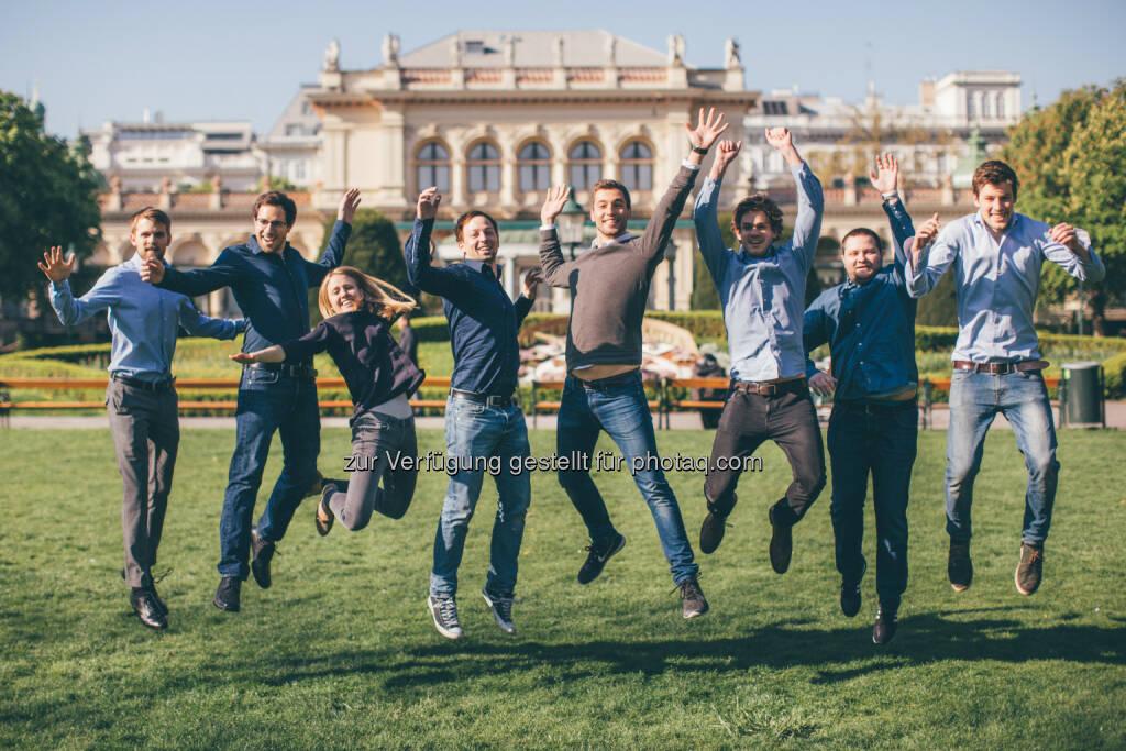 Das hokify-Team : Künstliche Intelligenz im Recruiting: Das Job-Interview mit der Maschine : Fotocredit. hokify, © Aussendung (25.05.2016)