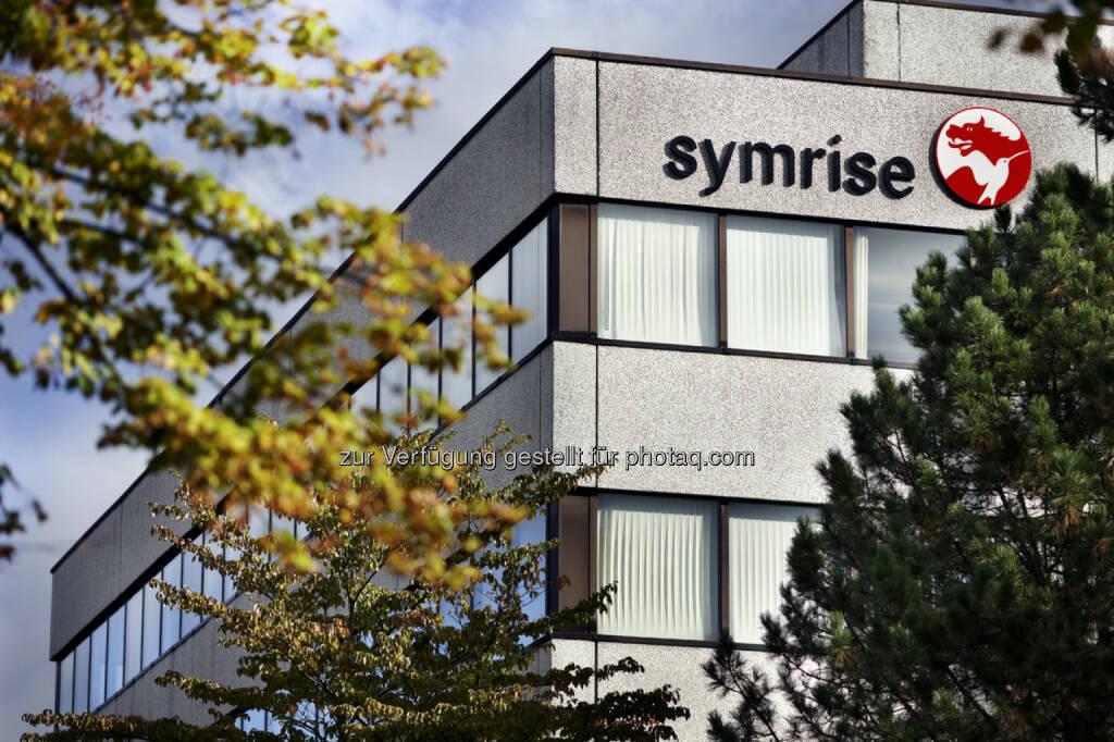 Symrise Aussenansicht (Bild: Symrise, https://www.symrise.com/de/newsroom/pressebilder/unternehmen/ ), © Aussender (27.05.2016)