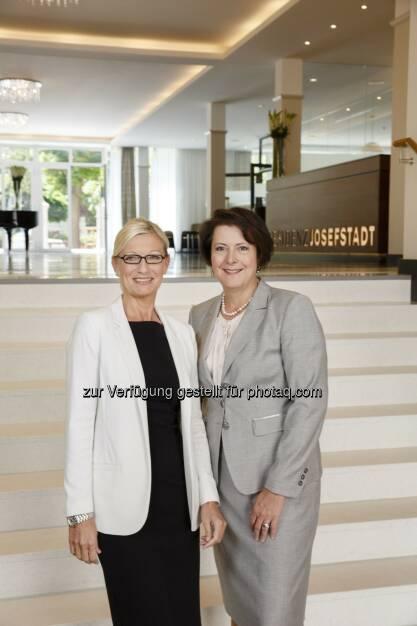 Dagmar Ludwig-Penall, Brigitta Hartl-Wagner : Residenz Wohnen - jetzt unter neuer Wiener Führung : Fotocredit: Residenz Josefstadt, © Aussendung (30.05.2016)