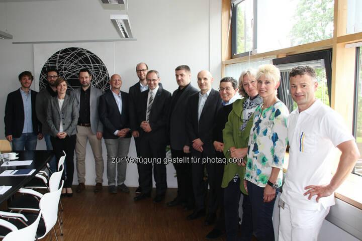 Projekt-Meeting GAIT Score : Medientechnik in der Physiotherapie : FH St. Pölten entwickelt Innovationen fürs Gesundheitswesen : Fotocredit: FH St. Pölten/Mark Hammer