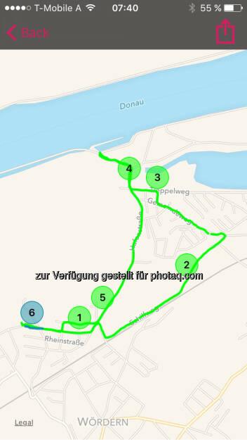 Runplugged Map (31.05.2016)