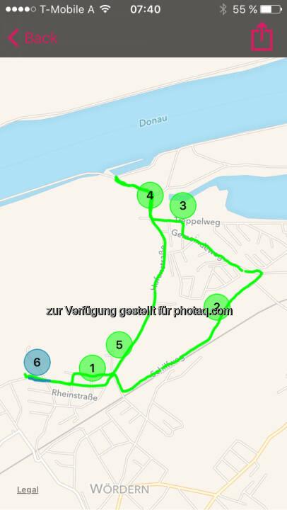 Runplugged Map