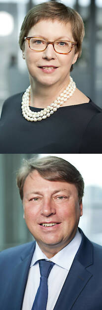 Jutta Kath, Rudolf Könighofer (neu im Kontrollgremium) : Hauptversammlung: Uniqa erweitert Aufsichtsrat : Fotocredit: Uniqa / Keinrath, © Aussender (31.05.2016)