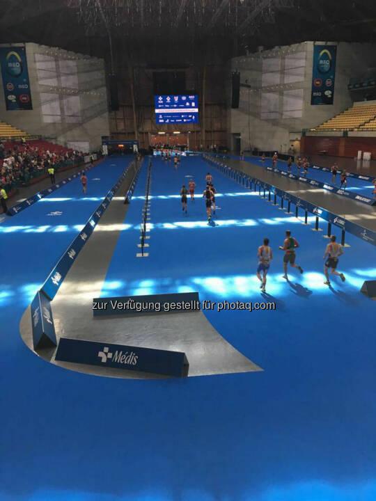 Martina Kaltenreiner: MEO Arena 4 Laufrunden = 5x in die Arena - Hammer Feeling, dort in's Ziel zu laufen!