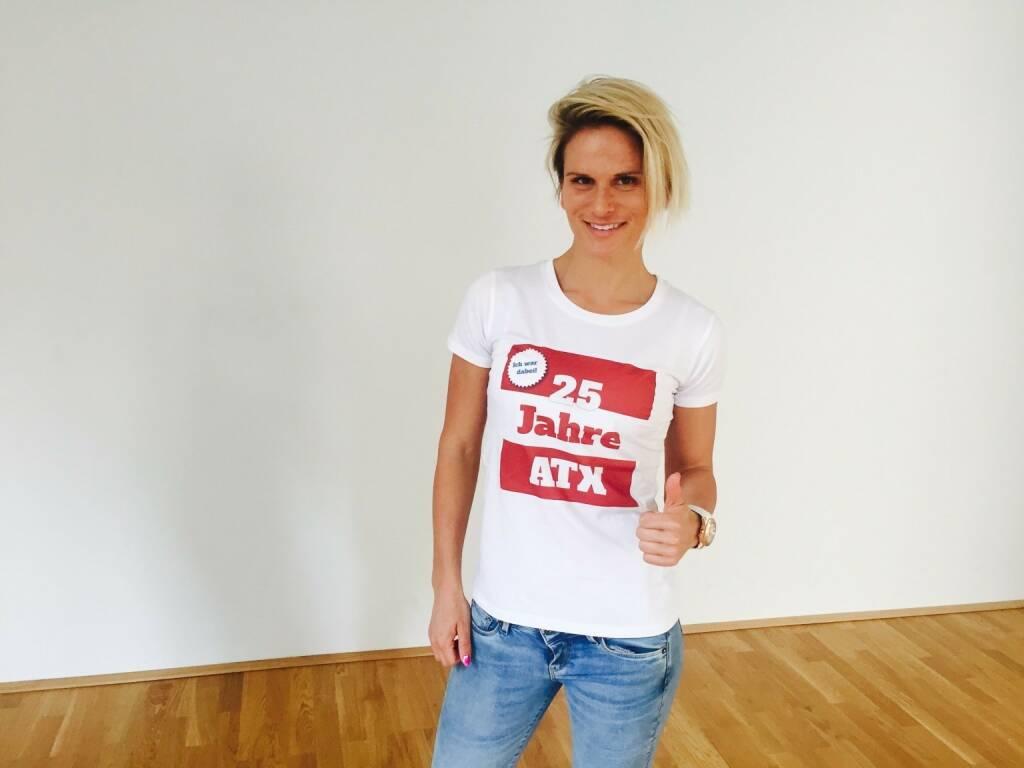 25 Jahre ATX - Elisabeth Niedereder (31.05.2016)