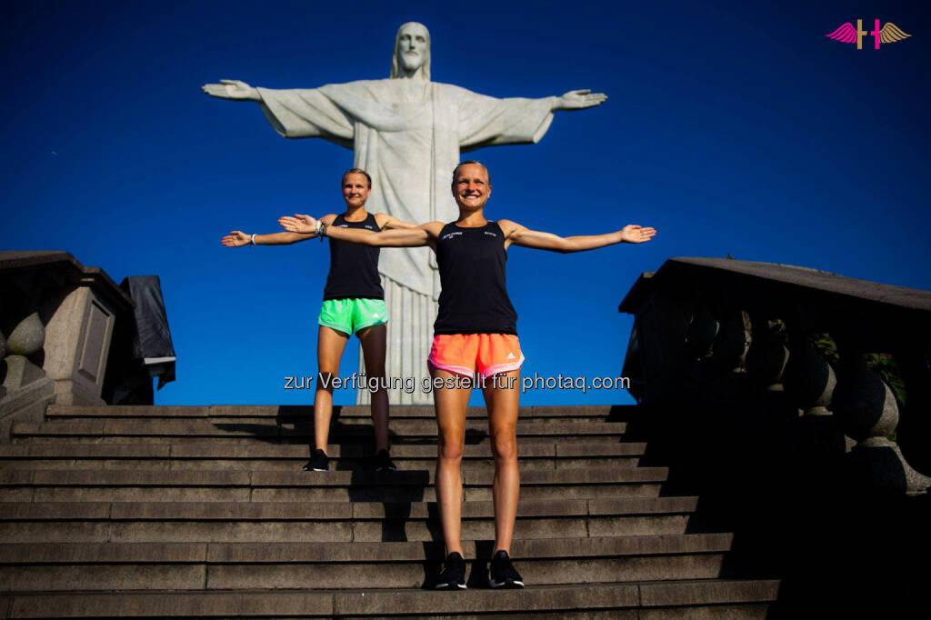 Anna und Lisa Hahner: Wir schreien es einfach mal heraus: RIO WIR kommen., &copy; <a href=