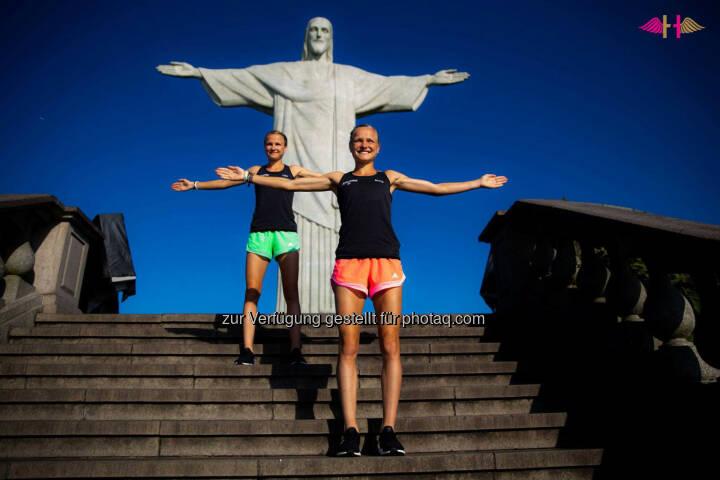 Anna und Lisa Hahner: Wir schreien es einfach mal heraus: RIO WIR kommen.