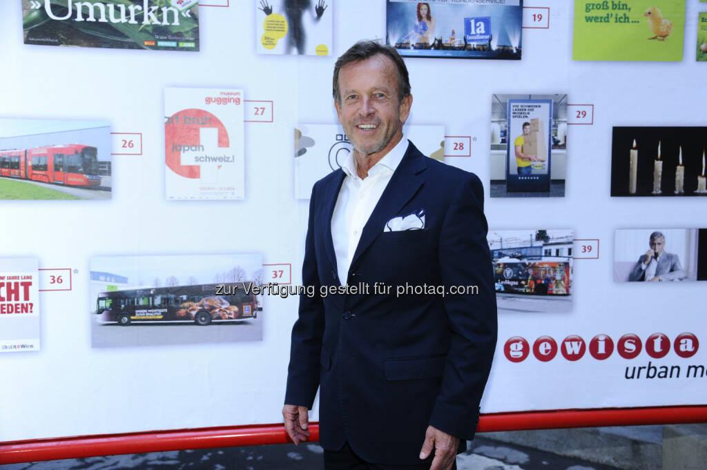 Karl Javurek (CEO Gewista) : Gewista feierte 33. Plakatparty im Arkadenhof des Wiener Rathauses : Fotocredit: Gewista (01.06.2016)