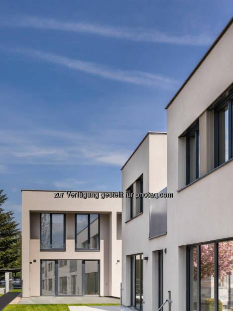 Donaustadt, Otterweg : Buwog Group übergibt Reihenhäuser in der Donaustadt : Fotocredit: Buwog Group/Stephan Huger, © Aussendung (02.06.2016)