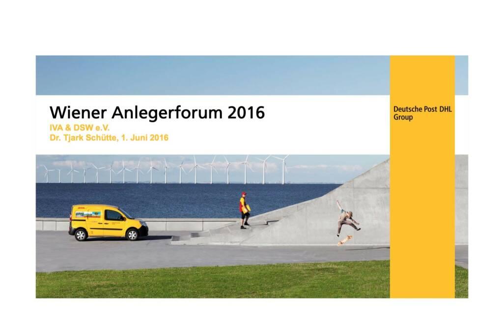 Deutsche Post DHL - Wiener Anlegerforum 2016 (02.06.2016)