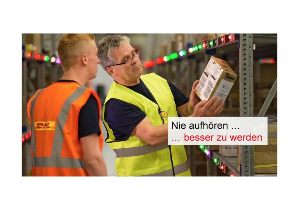 Deutsche Post - Nie aufhören, besser werden (02.06.2016)