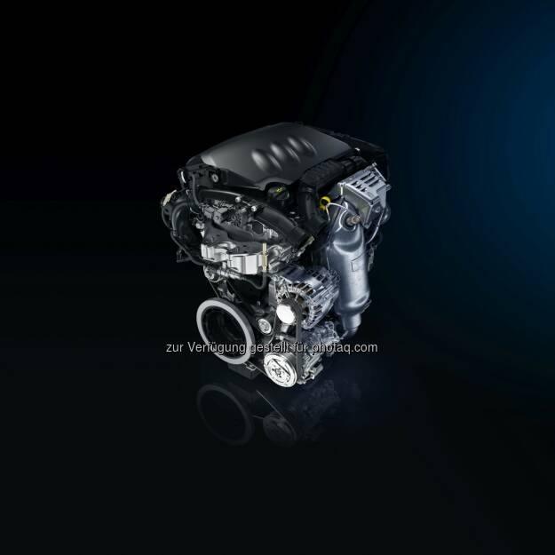 """Dreizylinder-PureTech-Benzin-Turbomotor : Zum zweiten Mal in Folge ausgezeichnet : """"Engine of the Year 2016 für Groupe PSA : Groupe PSA, © Aussendung (02.06.2016)"""