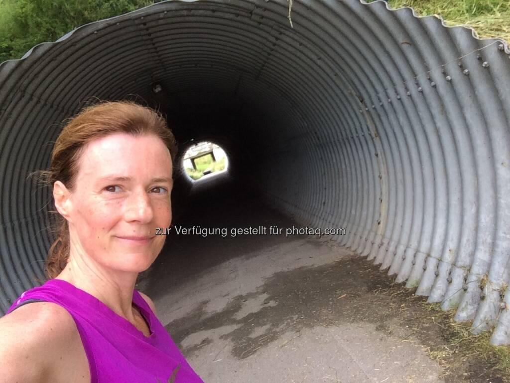 durch die Röhre in Stockerau (04.06.2016)