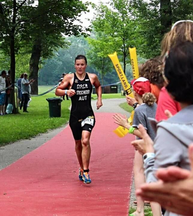 Tanja Stroschneider Triathlon Tulln