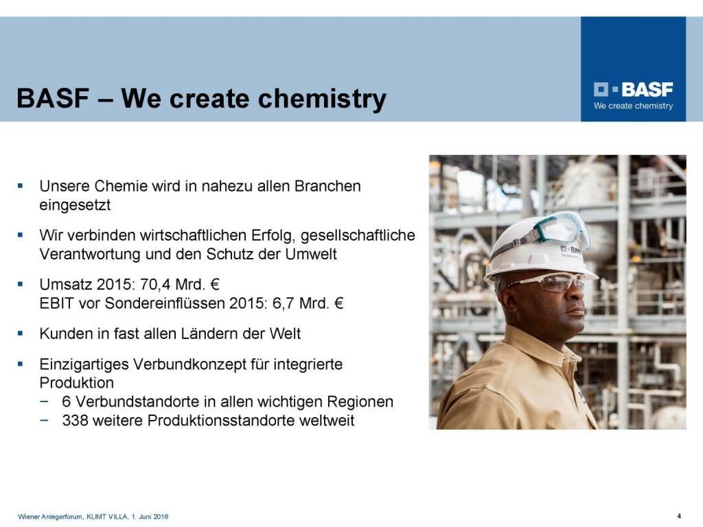 BASF - We create chemistry (06.06.2016)