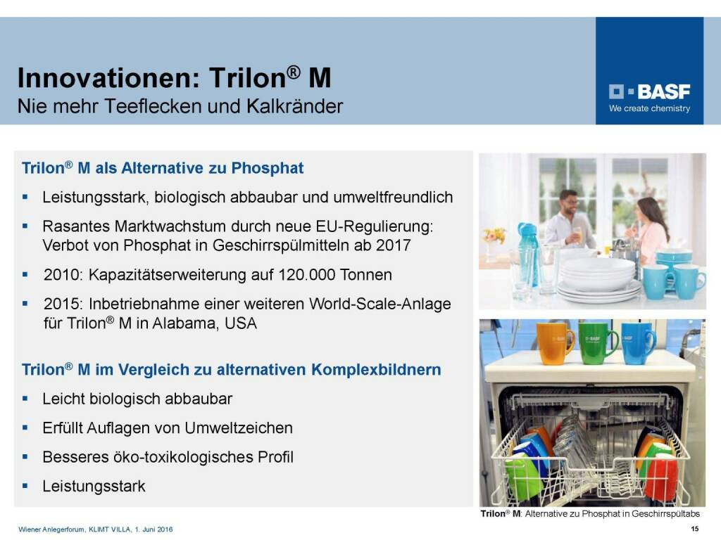 BASF - Innovationen Trilon (06.06.2016)