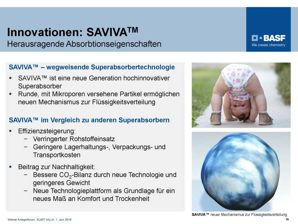 BASF - Innovationen SAVIVA (06.06.2016)