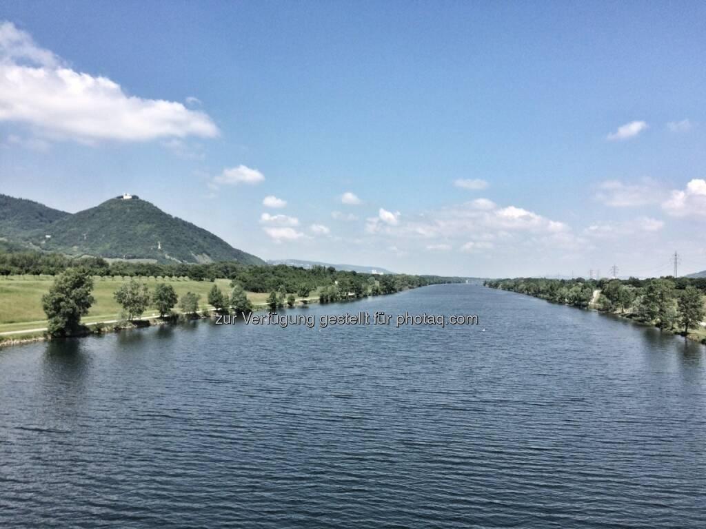 Blick Richtung Klosterneuburg (06.06.2016)
