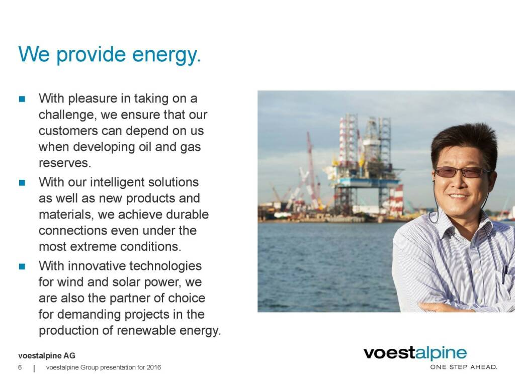 voestalpine - We provide energy (06.06.2016)