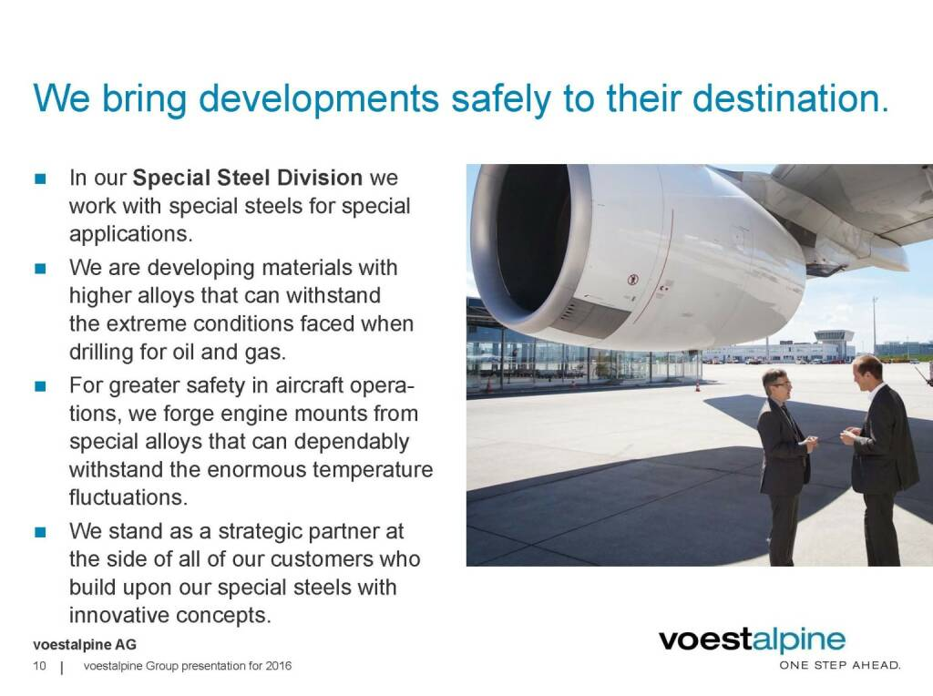 voestalpine - We bring developments safely to their destination (06.06.2016)