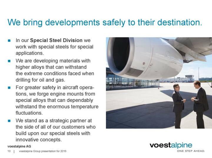 voestalpine - We bring developments safely to their destination