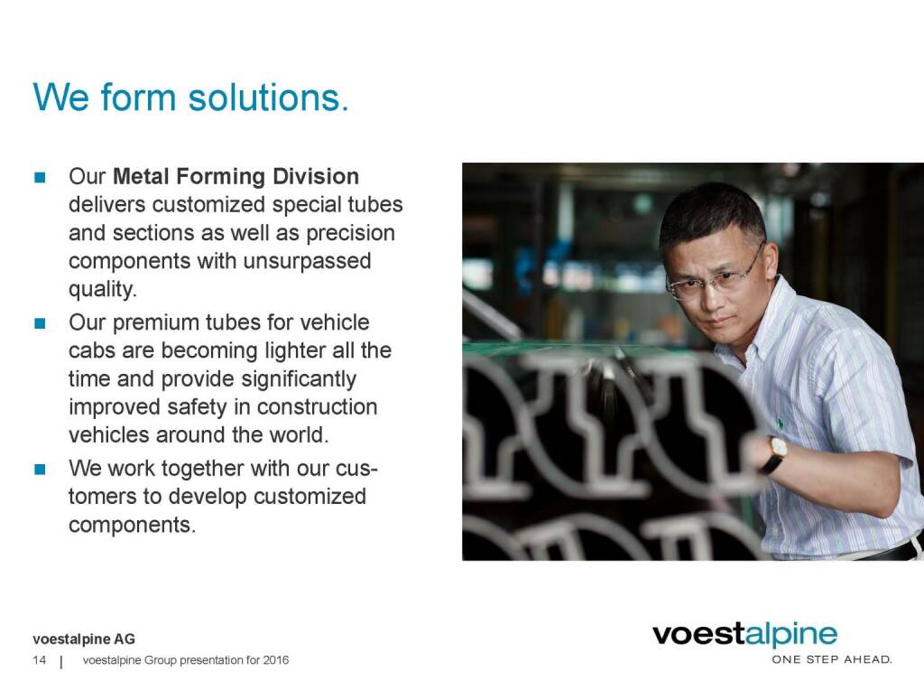 voestalpine - We form solutions (06.06.2016)