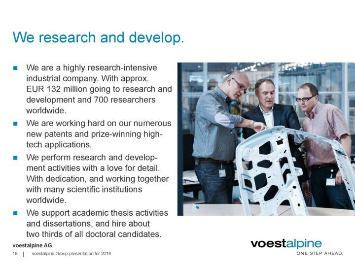voestalpine - We research and develop