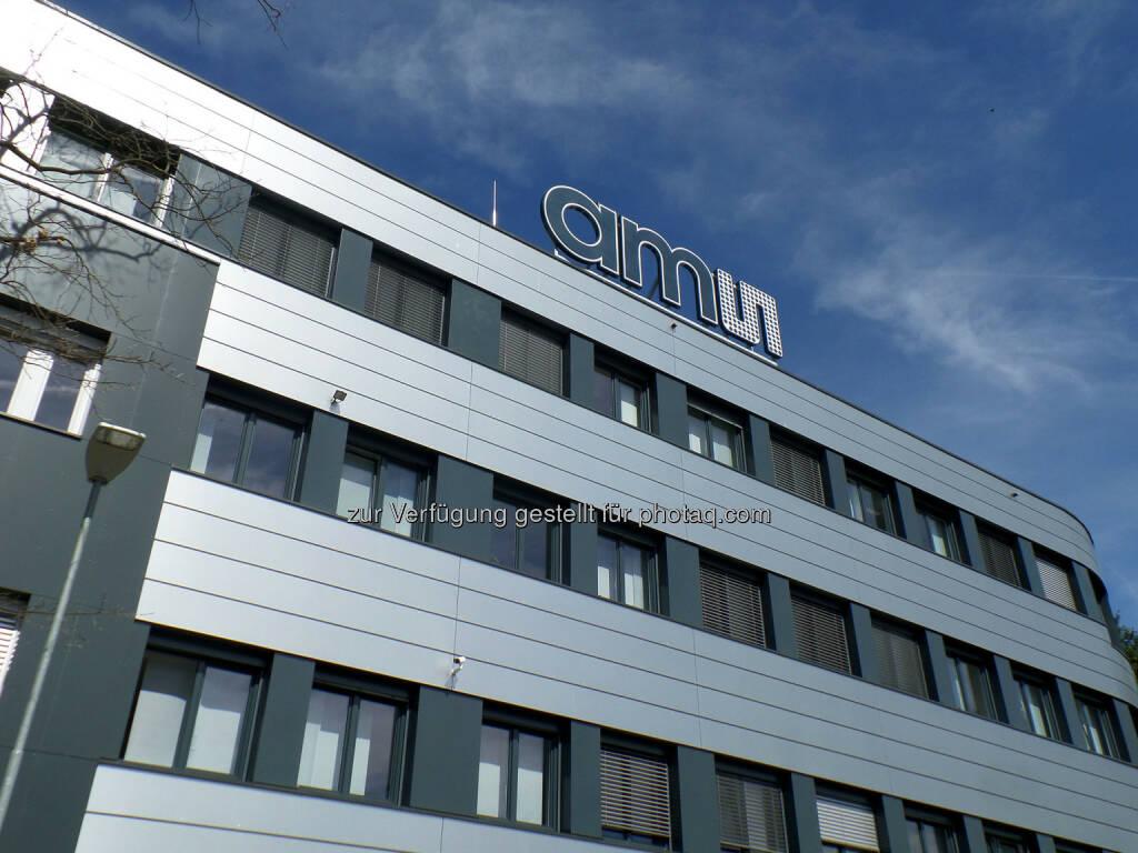 ams Firmengebäude, © Aussender (07.06.2016)