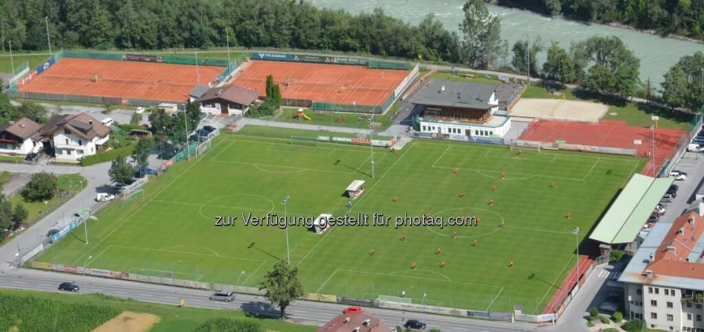 Sportanlage SV Zams : Die Ferienregion TirolWest wird ab der Saison 2016/17 neuer Herz-der-Pfalz-Partner des 1. FC Kaiserslautern : Fotocredit: SV Zams, © Aussendung (07.06.2016)