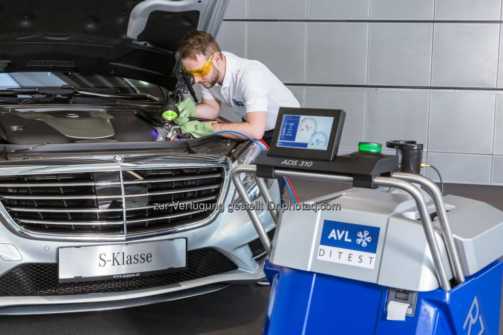 AVL DiTest ADS 310 : AVL DiTest entwickelte, in Zusammenarbeit mit Daimler, ein Servicegerät zur Wartung von CO2 Klimaanlagen : Fotocredit:  DiTest/Jorj Konstantinov, © Aussendung (07.06.2016)