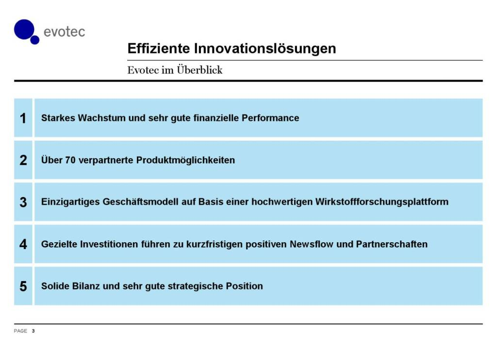 Evotec - Effiziente Innovationslösungen (07.06.2016)
