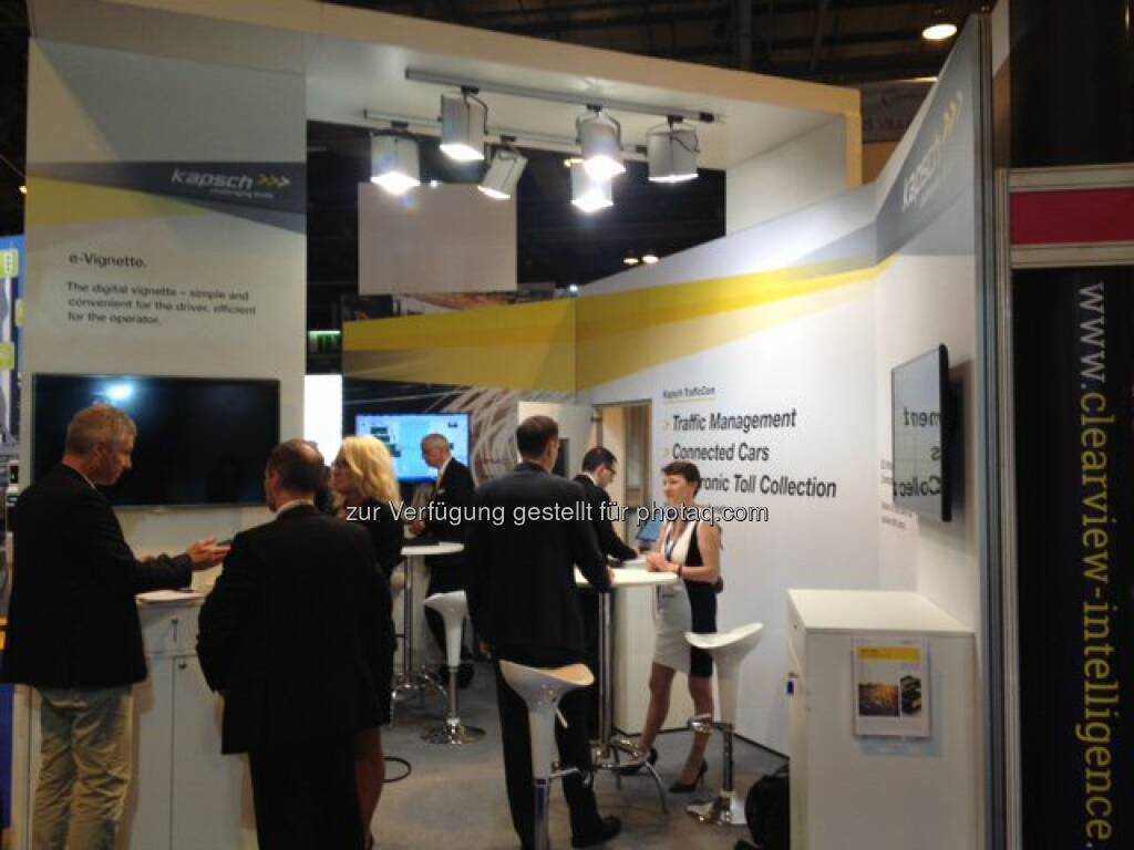 Some impressions from our booth at the #ITSGlasgow16. http://twitter.com/kapschnet/status/740454565343055872/photo/1  Source: http://twitter.com/kapschnet (08.06.2016)